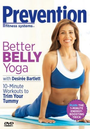 prevention better belly yoga dvd cover